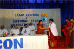 Lamp Lighting & Deccenial Year